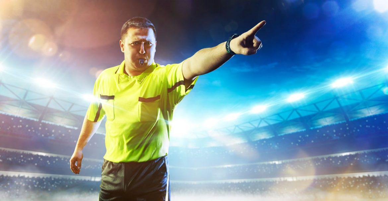 fútbol árbitro