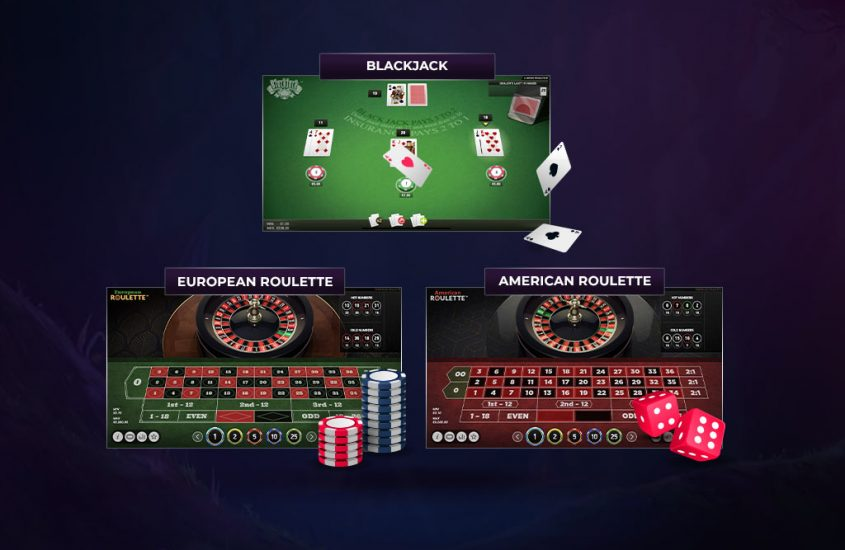 Juegos Blackjack y Roulette